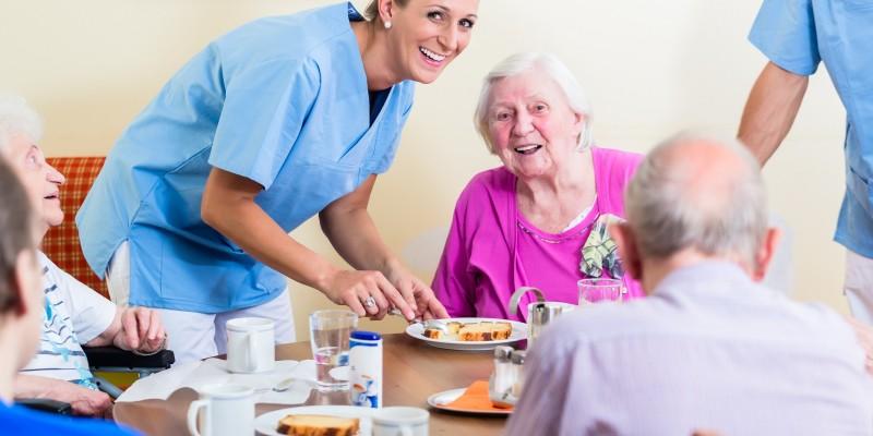 Vrijwilliger huiskamer dementie
