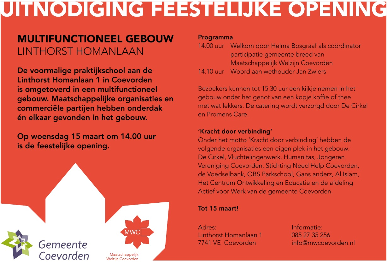 uitnodiging 15 maart l.homanlaan